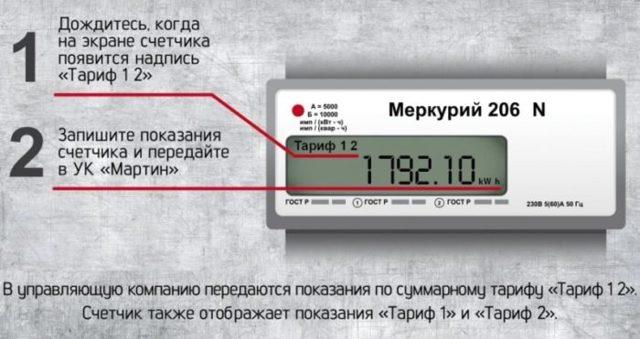Как снять показания счетчика электроэнергии день-ночь в 2020 году