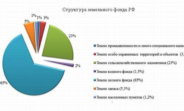 Что такое земельный фонд РФ в 2020 году: общая характеристика