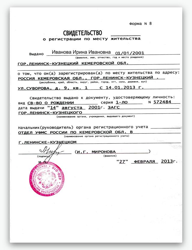 Как прописаться человеку в квартире: регистрация собственников и других лиц️