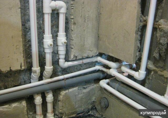 Как происходит замена труб водоснабжения в квартире